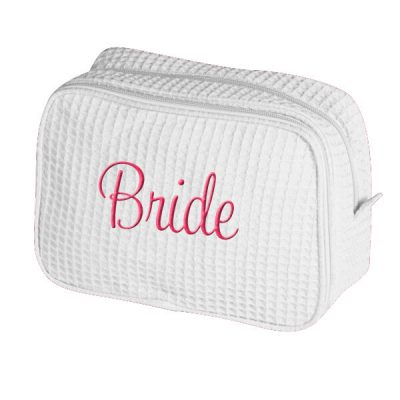 Personalized Bride Cosmetic Bag