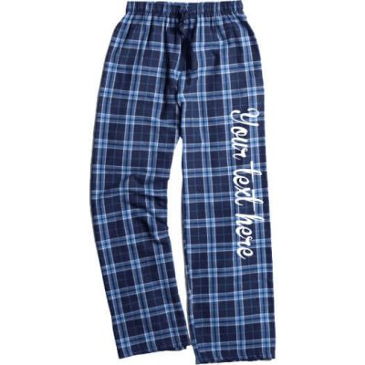 Create Your Own Flannel Pants