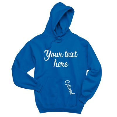 Create Your Own Pullover Hoodie