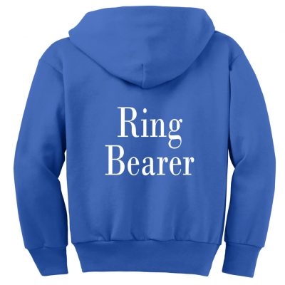 Design Your Own Ring Bearer Zip Hoodie