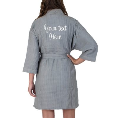 Create Your Own Waffle Robe (Back)