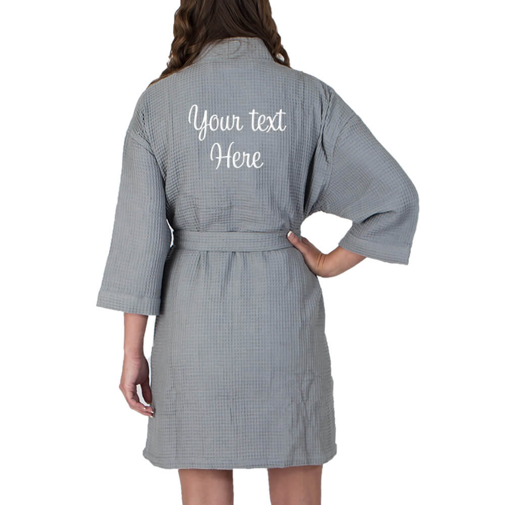 personalized  u0026quot soon to be mrs  u0026quot  bride waffle robe