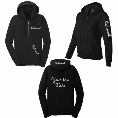 Create Your Own Full-Zip Hoodie - Front