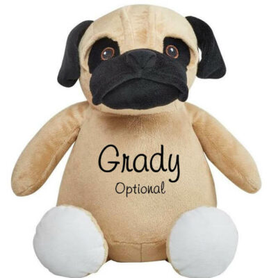Personalized Pug with Name
