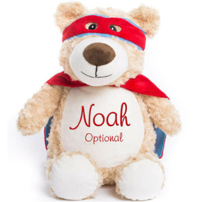 "Personalized Ring Bearer ""Super Bear"""