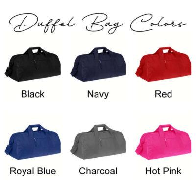 Duffel Bag Colors