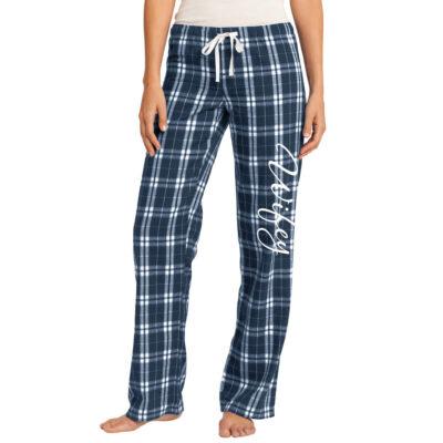 """""""Wifey"""" Flannel Pants"""