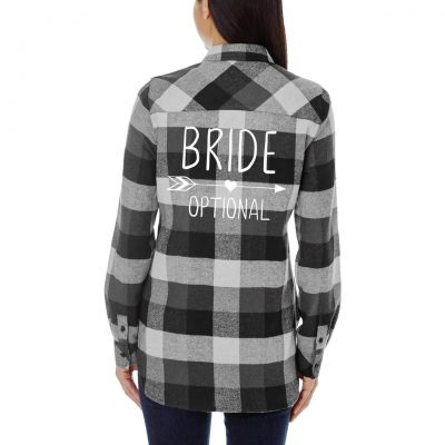 Bride Flannel Shirt with Arrow