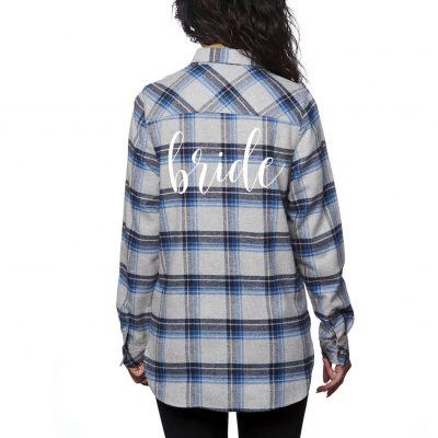 Flannel Bride Shirt - Lowercase