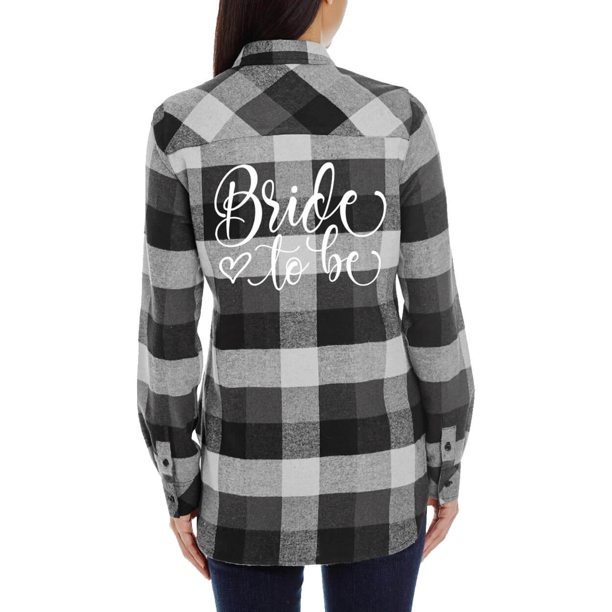 Bride To Be Flannel Shirt Personalized Brides