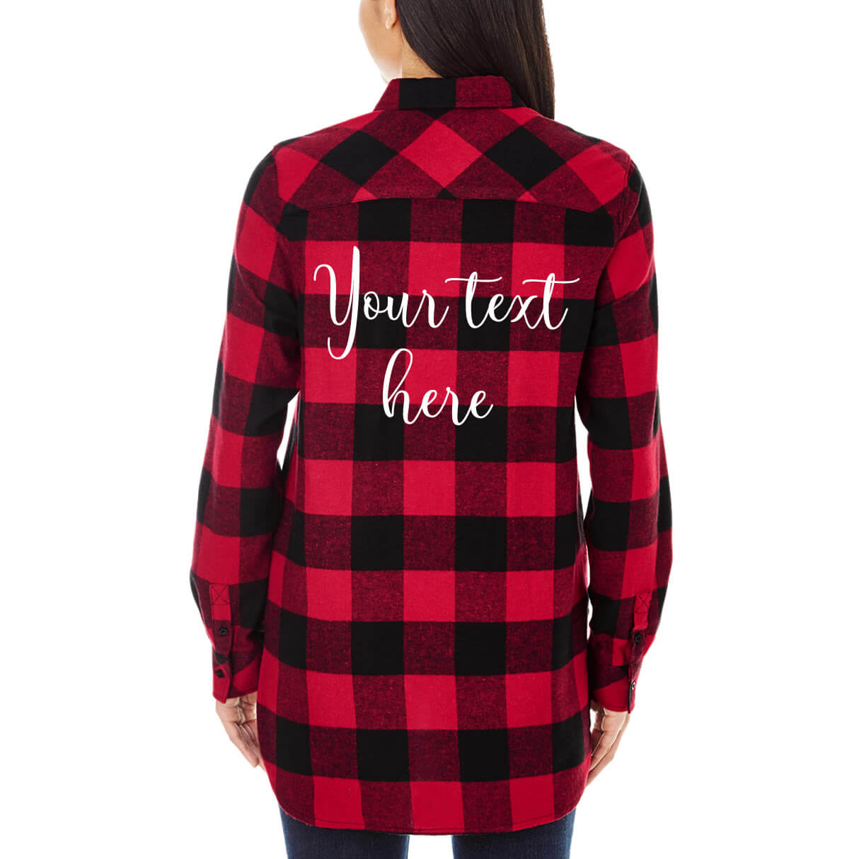 create your own flannel shirt personalized brides