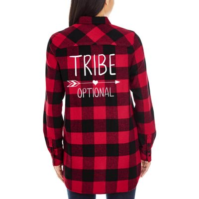 """""""TRIBE"""" Flannel Shirt"""