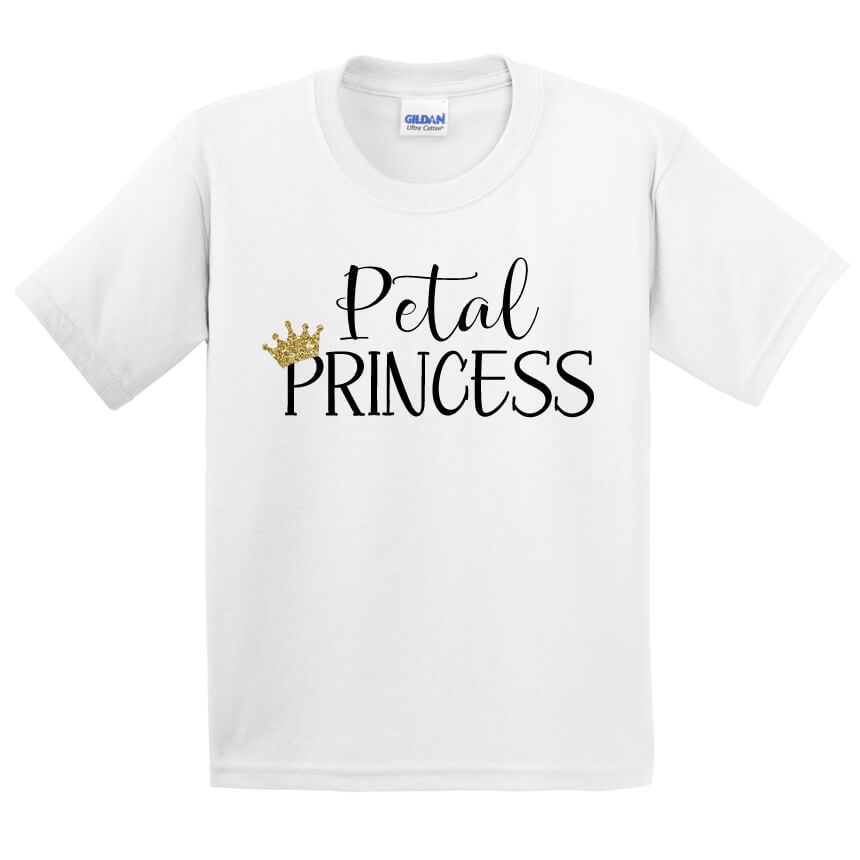 Quot Petal Princess Quot Flower Girl Shirt Personalized Brides