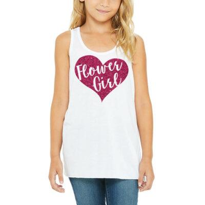 Flower Girl Wedding Shirt Rehearsal Flower Girl Shirt Flower Girl Shirt Flower Girl Tank Top Flower Girl Flower Girl Rehearsal Tank top
