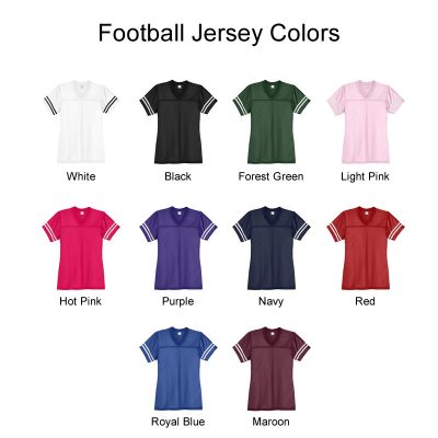 Football Jersey Colors