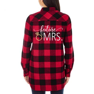 """Future Mrs."" Flannel Shirt"