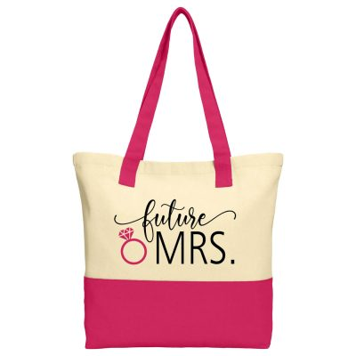 """Future Mrs."" 2-Tone Tote Bag"