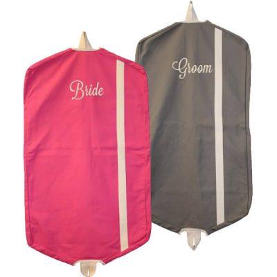 Bride & Groom Garment Bag Set