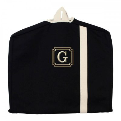 Garment Bag with Initial