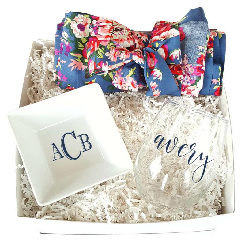Floral Bridal Gift Box