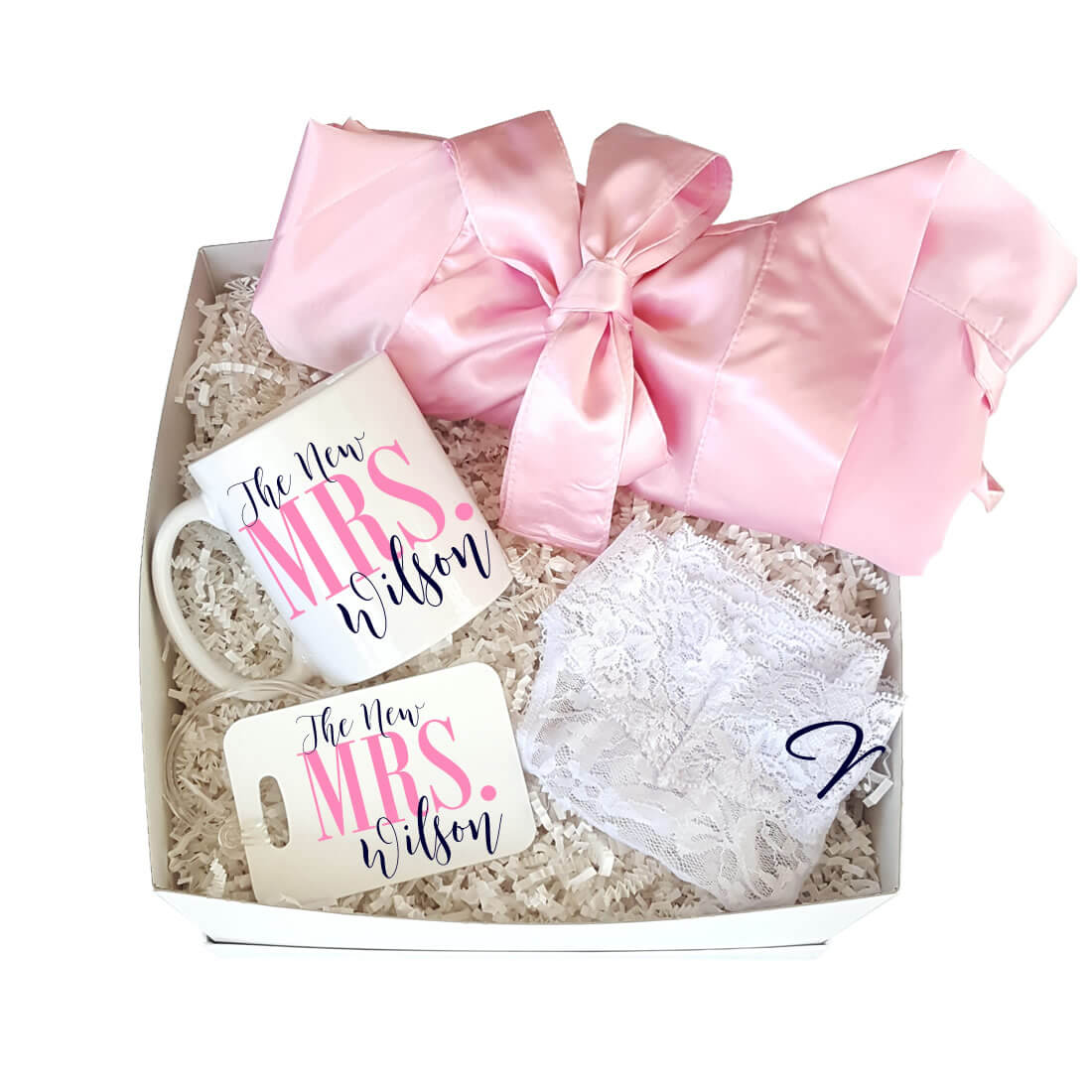 Honeymoon Gift Box 2 | Personalized Brides