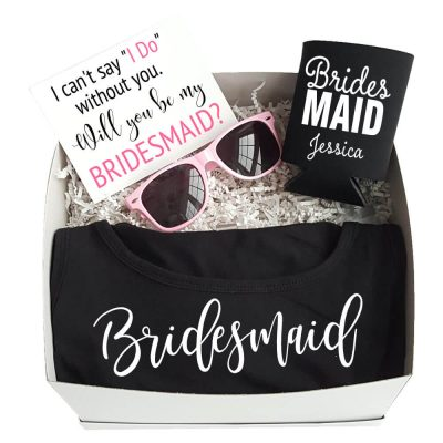 """Will You Be My Bridesmaid?"" Gift Box"