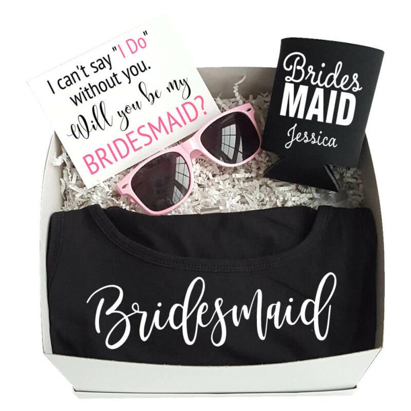 """Will You Be My Bridesmaid?"" Gift Box"