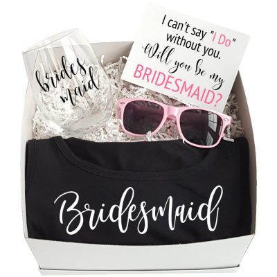"""Will You Be My Bridesmaid?"" Gift Box 2"