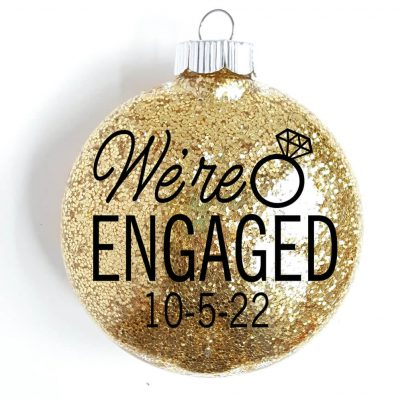 """We're Engaged!"" Ornament"