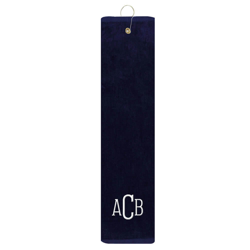 Personalized Golf Towel with Monogram