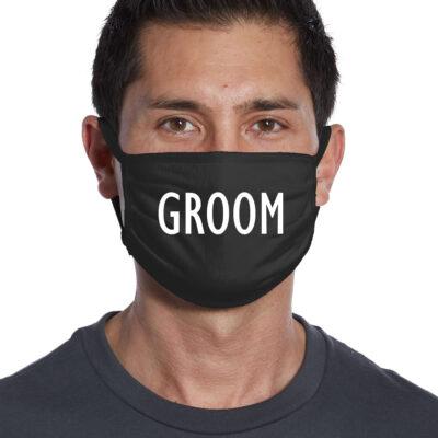 Groom Face Mask