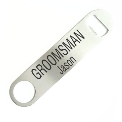 Groomsman Bottle Opener