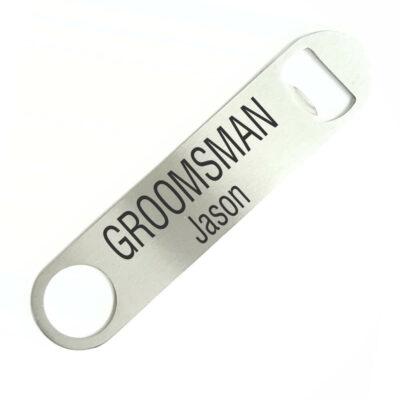 Groomsman Bottle Opener