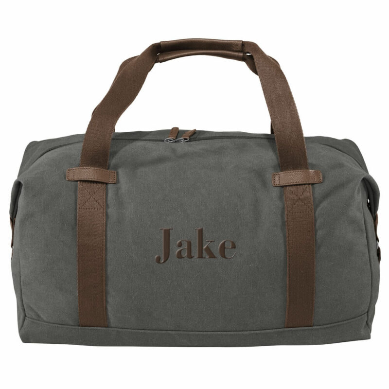 Groomsman Duffel Bag with Name