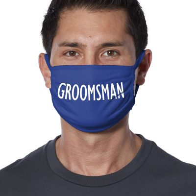 Groomsman Face Mask