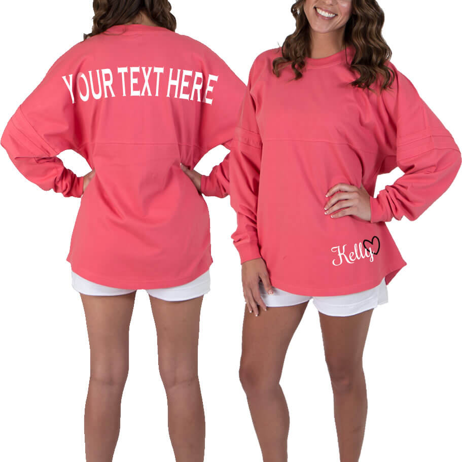 450bb541a Create Your Own Jersey Shirt with Optional Name | Personalized Brides