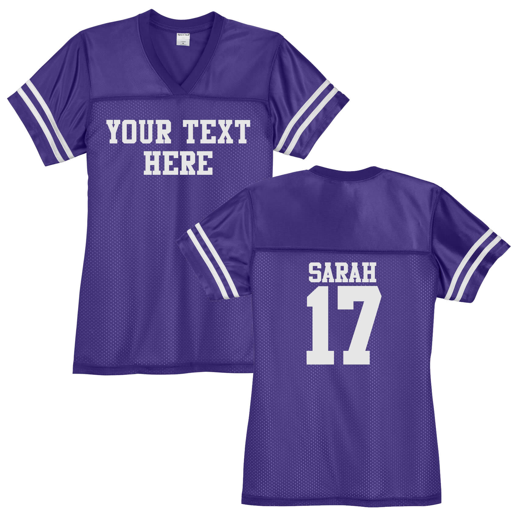 13bdbddcd Create Your Own V-Neck Football Jersey with Name & Number ...