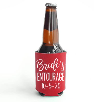 """Bride's Entourage"" Koozie"