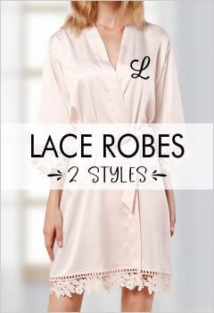 Lace Bridesmaid Robes
