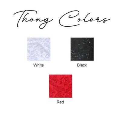 Lace Thong Colors