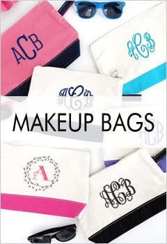 Personalized Cosmetic Bags & Toiletry Bags