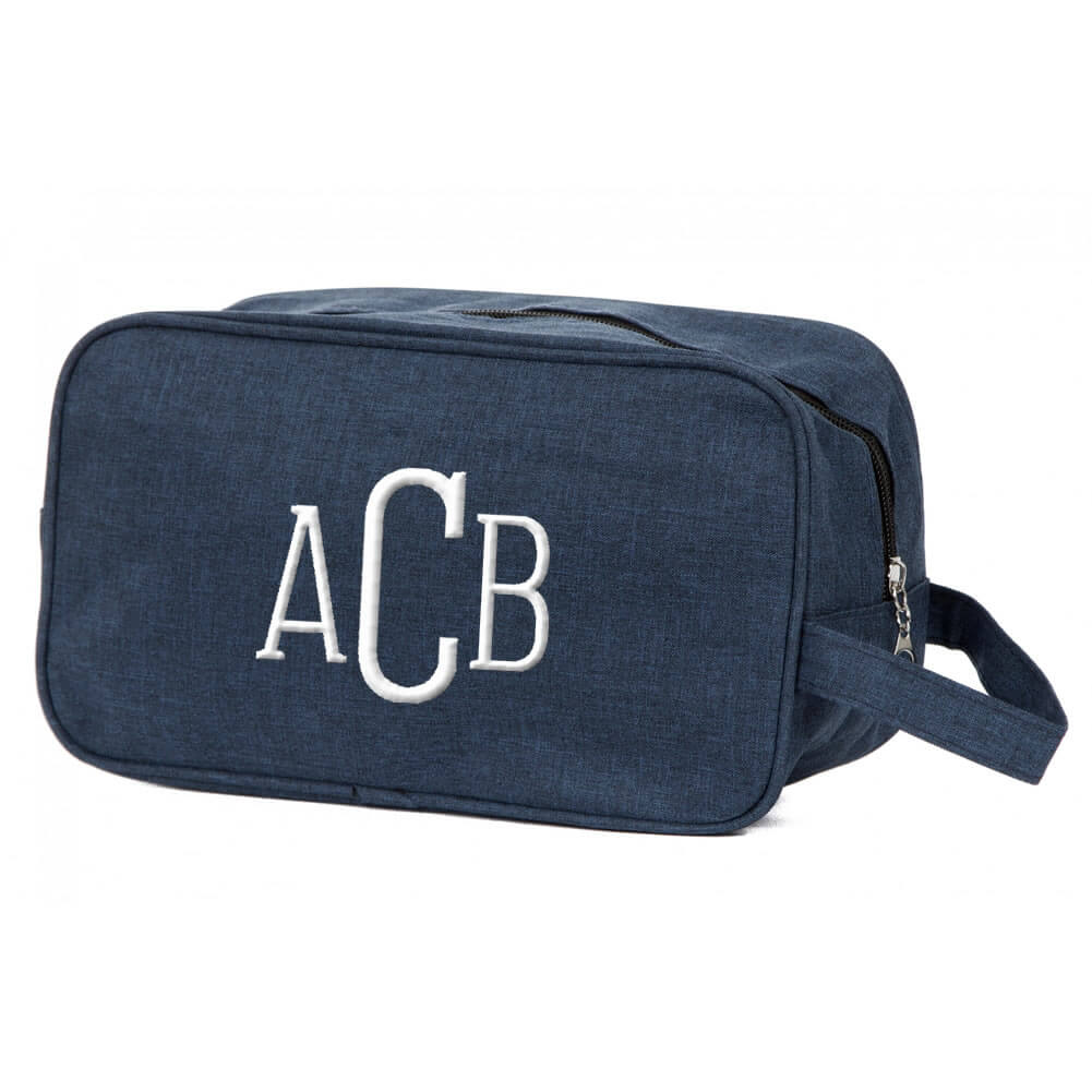 Monogrammed Toiletry Bag Personalized Brides