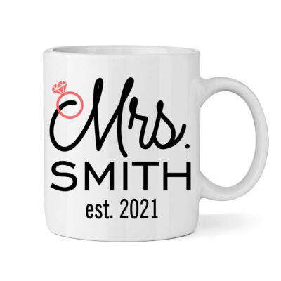 """Mrs."" Bride Mug"