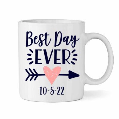 1216 Custom Wedding Monograms Best Day Ever Wedding Best Day Ever Monogrammed Wedding Favor Anniversary Favors Bridal Shower Gifts