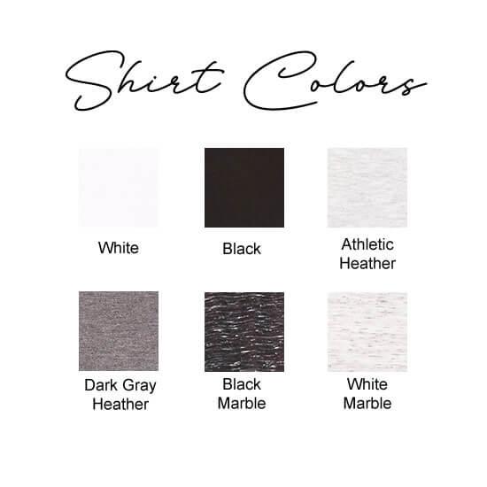 Wide Neck Shirt Colors