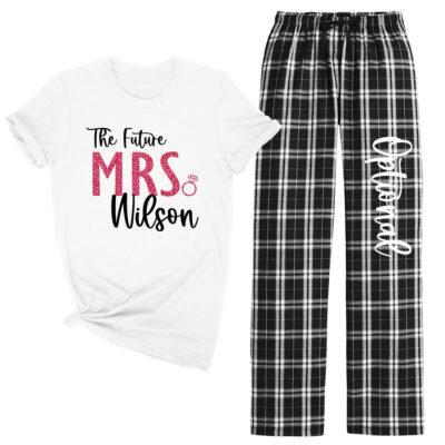 """The Future Mrs."" Bride Pajama Pant Set"