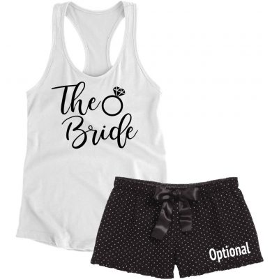 """The Bride"" Pajama Set with Ring"