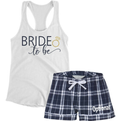 """Bride to be"" Pajama Set"