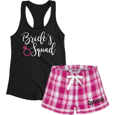 """Bride's Squad"" Pajama Set"