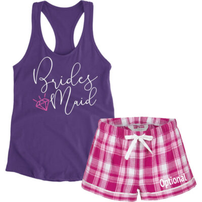 Bridesmaid Pajama Set